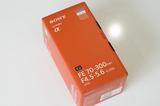 開梱SEL70300G(FE 70-300mm F4.5-5.6 OSS)