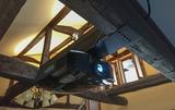味わいある旧家のホームシアター、プロジェクター入れ替えのお仕事