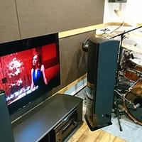ドラムのある、防音室ホームシアター。。。