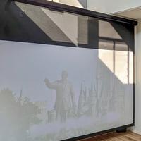120インチサウンドスクリーンを使った、ホームシアター