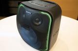 OK Google音声操作対応の、重低音で光るスマートスピーカー「SRS-XB501G」、実機レビュー