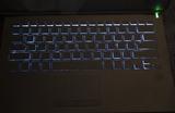 VAIO SX14、無刻印キーボードでも、バックライト機能は搭載???